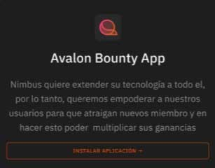 avalon bounty app